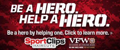 Sport Clips Haircuts of Sienna Plantation ​ Help a Hero Campaign